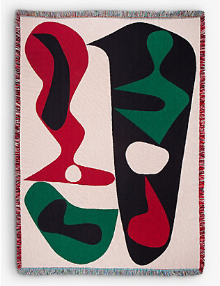 SLOW DOWN STUDIO: Sakamoto cotton throw 137cm x 178cm