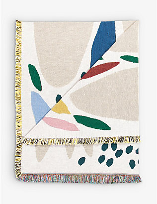 SLOW DOWN STUDIO: Jarvis cotton throw 137cm x 178cm