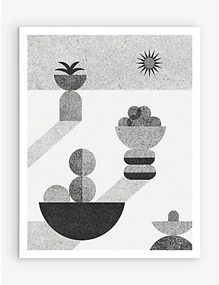 SLOW DOWN STUDIO: Ocaso art print 35.5cm x 28cm