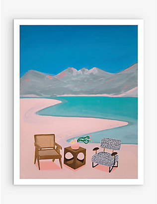 SLOW DOWN STUDIO: Sun Room art print 35.5cm x 28cm