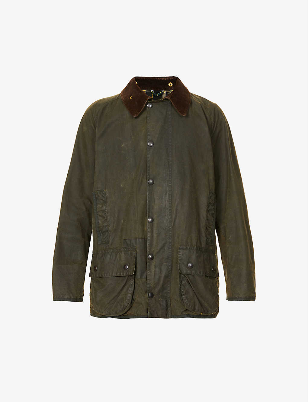 BARBOUR: Re-Loved waxed cotton jacket