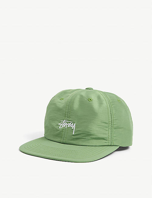 STUSSY: Logo-embroidered nylon-blend cap