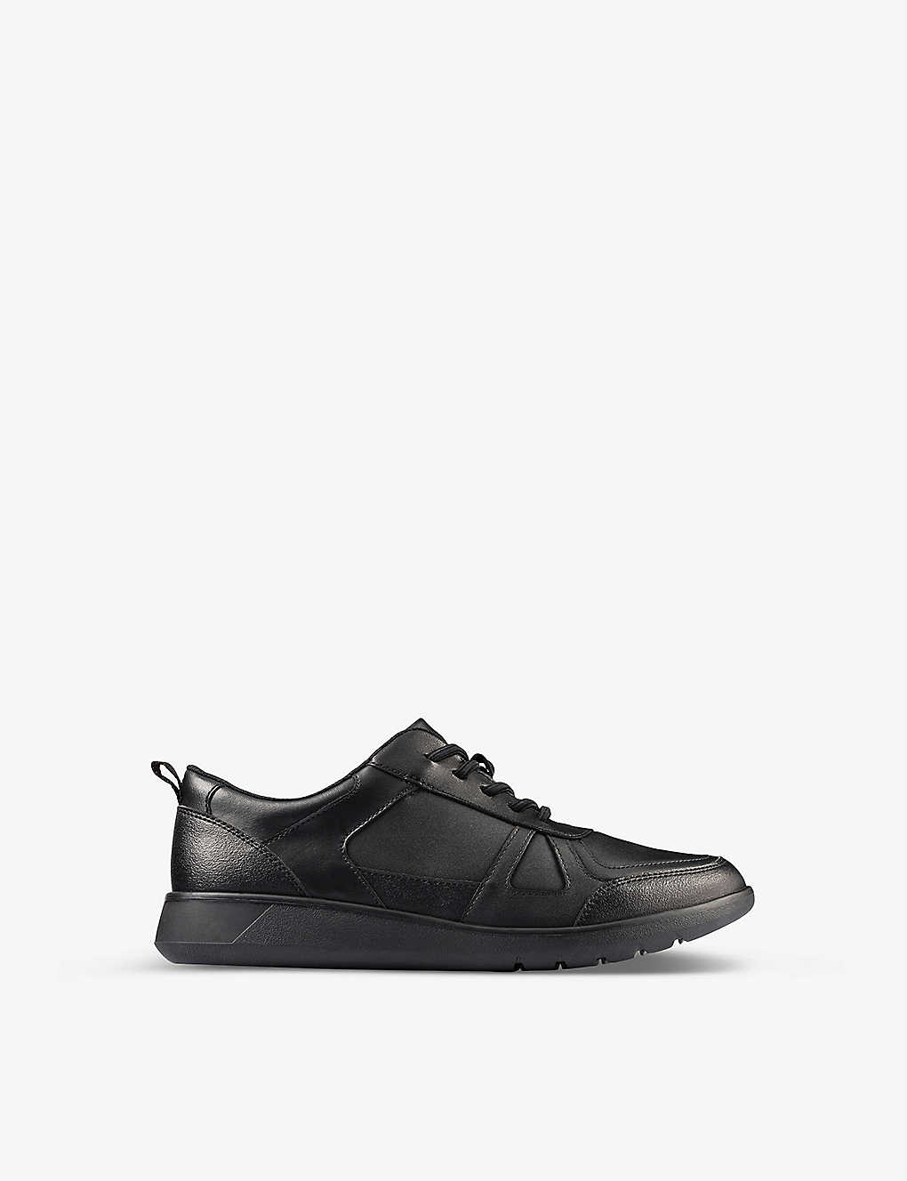 CLARKS: Scape Track Youth leather shoes 9-12 years