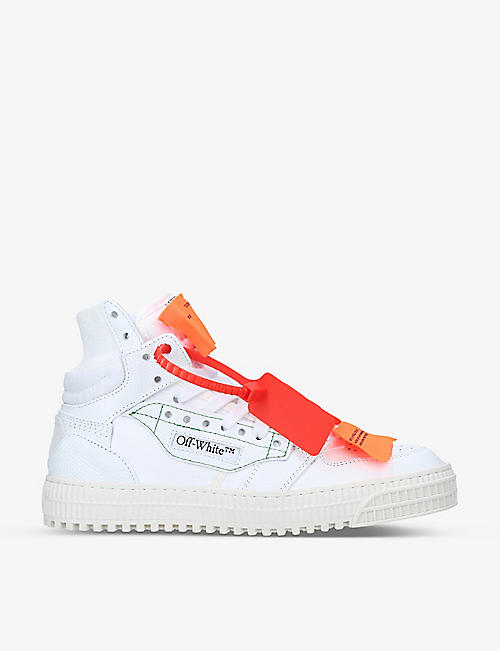OFF-WHITE C/O VIRGIL ABLOH: Court 3.0 leather trainers