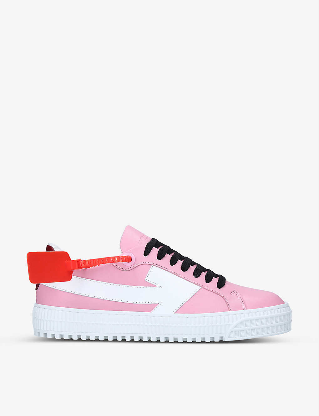 OFF-WHITE C/O VIRGIL ABLOH: Arrow suede trainers