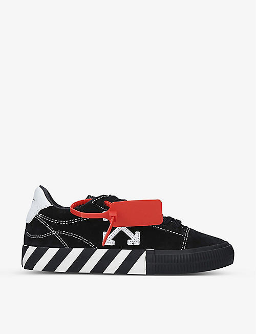 OFF-WHITE C/O VIRGIL ABLOH: New Arrow suede trainers