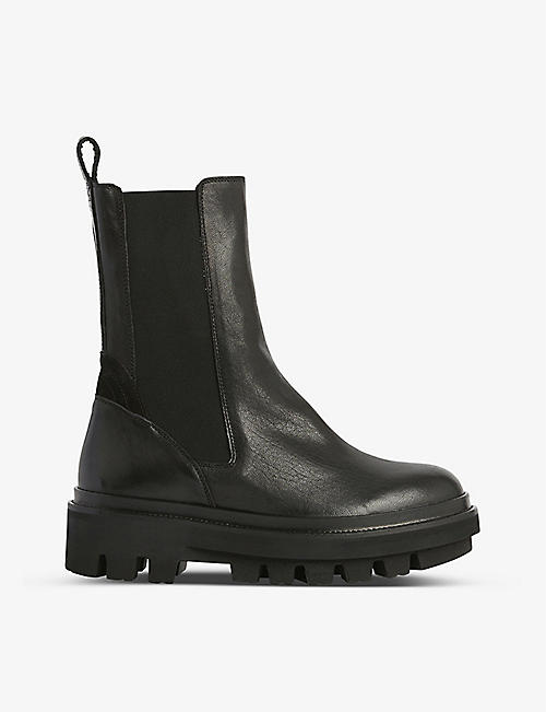 ALLSAINTS: Billie leather Chelsea boots