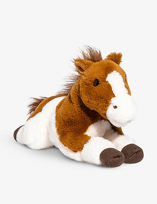FAO PLUSH: Lying Horse plush toy 38cm