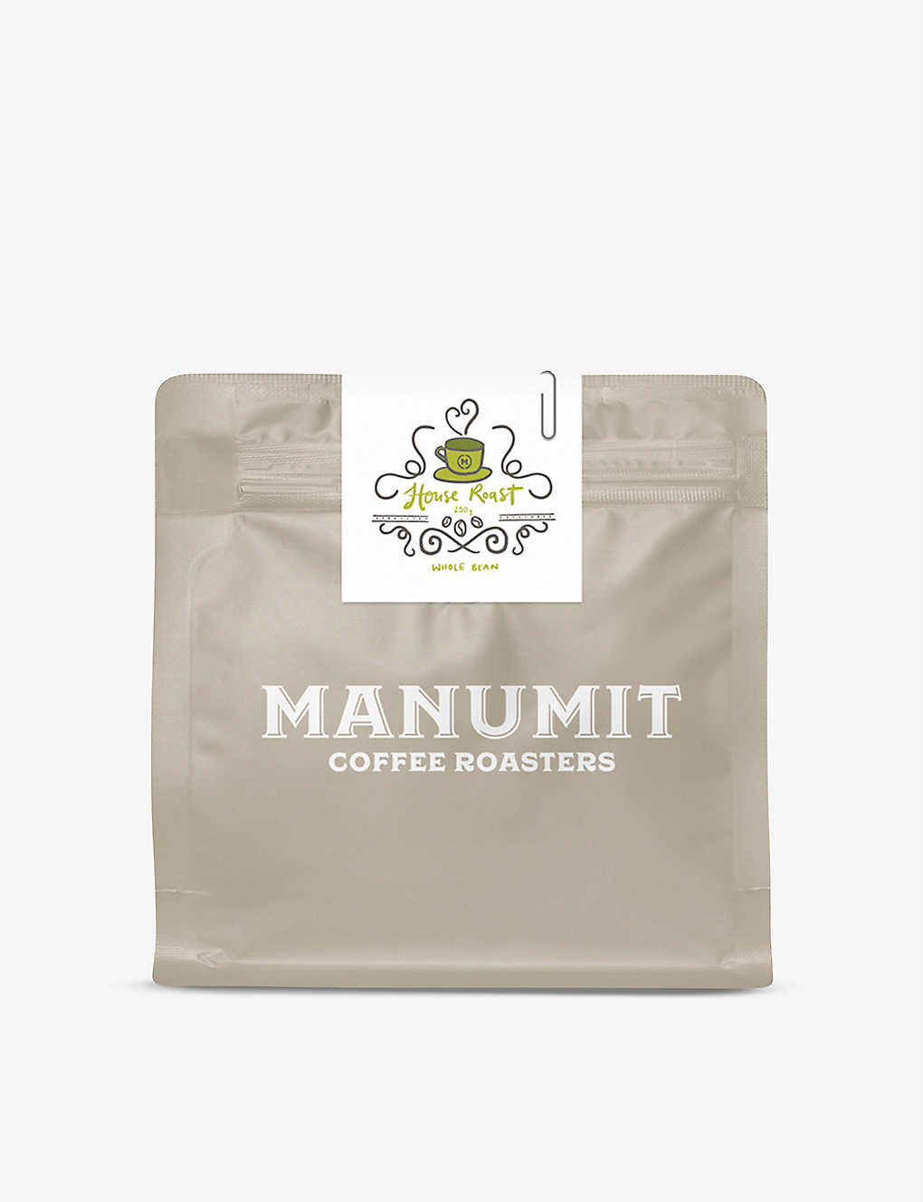 COFFEE: Manumit House Roast ground beans 250g