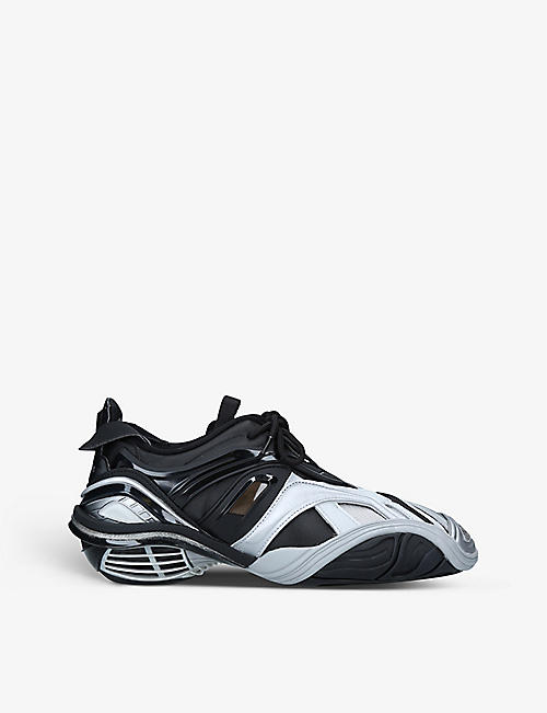BALENCIAGA: Men's Tyrex square-toe panelled trainers