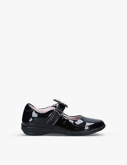 LELLI KELLY: Bonnie interchangable-strap patent-leather shoes 4-8 years
