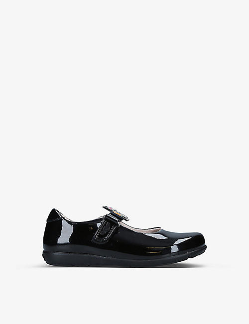 LELLI KELLY: Bonnie interchangable-strap patent-leather shoes 4-10 years