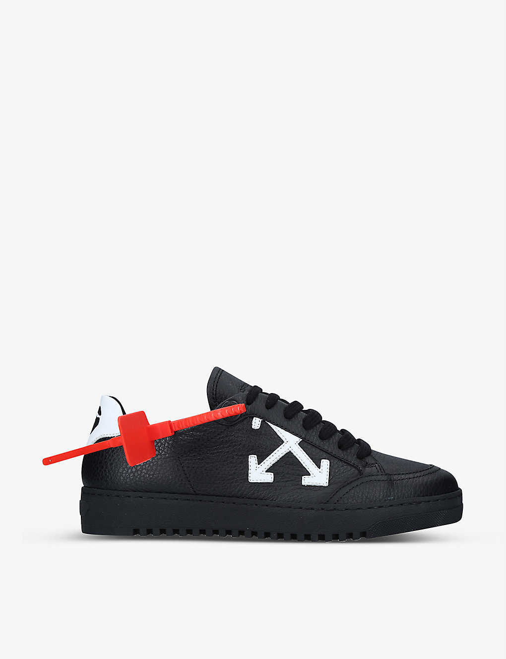 OFF-WHITE C/O VIRGIL ABLOH: Arrow 2.0 leather trainers