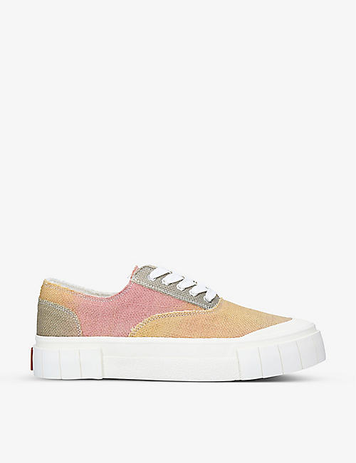 GOOD NEWS: Opal organic cotton jute trainers