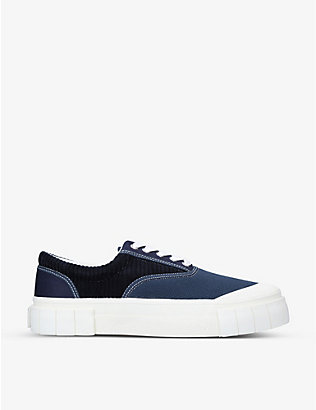 GOOD NEWS: Opal organic cotton corduroy and canvas trainers