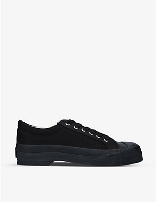 GOOD NEWS: Sunn organic cotton-canvas trainers