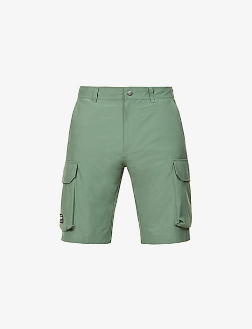 ADIDAS STATEMENT: SPEZIAL patch-pocket stretch-shell shorts