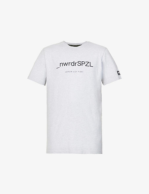 ADIDAS STATEMENT: SPEZIAL graphic-print cotton-jersey T-shirt