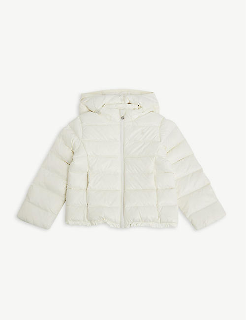 RALPH LAUREN: Water-repellent down-filled hooded jacket 2-5 years