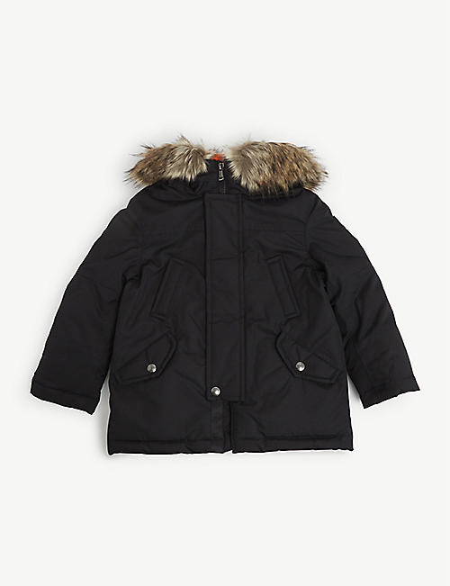 RALPH LAUREN: Water-repellent down-filled hooded jacket 2-7 years