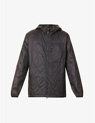 ASPESI: Hooded shell jacket