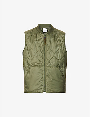ASPESI: Quilted shell gilet