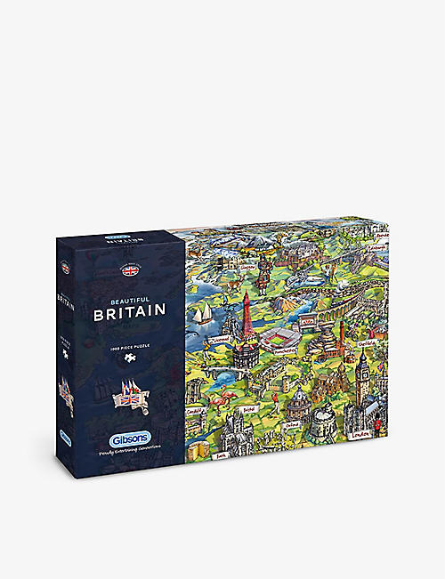PUZZLES: Gibsons Beautiful Britain 1000-piece jigsaw puzzle