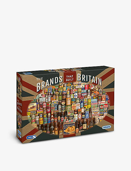 PUZZLES: Gibsons The Brands that Built Britain 1000-piece jigsaw puzzle