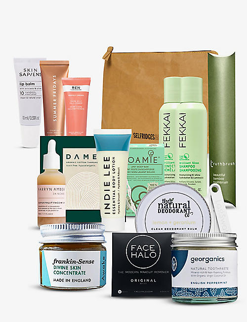 SELFRIDGES: Project Earth beauty bag