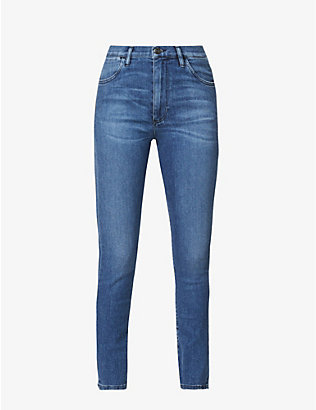 3X1: Channel Seam high-rise skinny jeans
