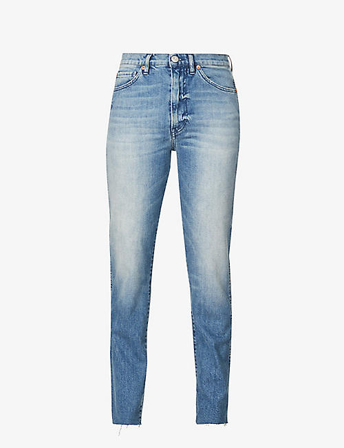 3X1: Claudia slim-fit mid-rise jeans