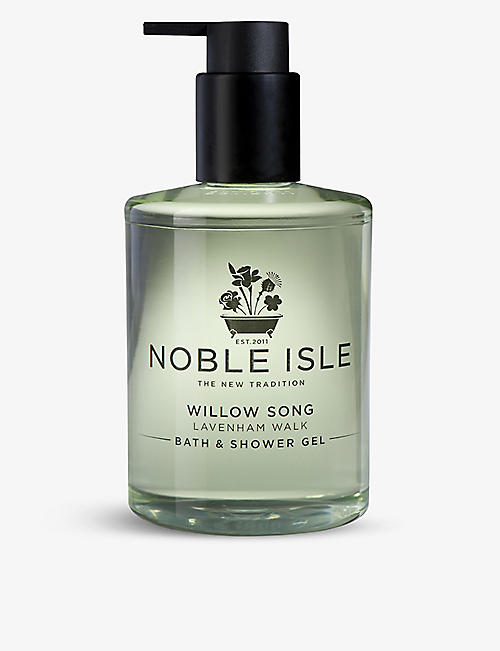 NOBLE ISLE: Willow Song bath & shower Gel 250ml