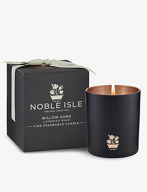 NOBLE ISLE: Willow Song scented candle 200g