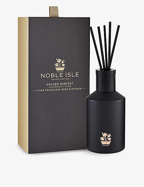 NOBLE ISLE: Golden Harvest diffuser 180ml