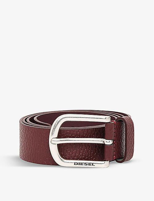 DIESEL: B-Guarantee leather belt