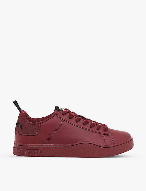 DIESEL: S-Clever leather low-top sneakers