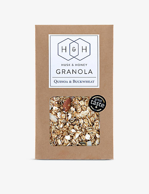 HUSK & HONEY: Quinoa And Buckwheat Granola 450g
