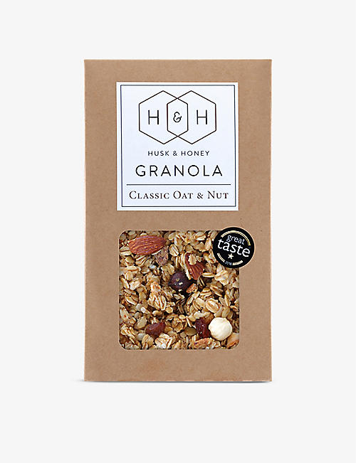 HUSK & HONEY: Classic Oat And Nut Granola 450g