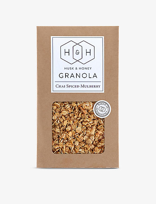 HUSK & HONEY: Chai Spiced Mulberry Granola 450g