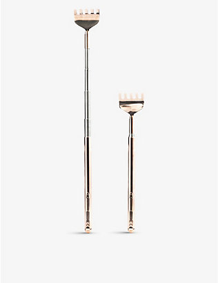 KIKKERLAND: Telescopic copper back scratcher