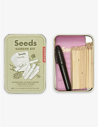 KIKKERLAND: Seeds garden miniature kit