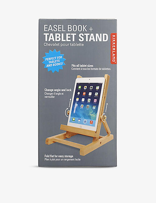 KIKKERLAND: Wooden tablet stand