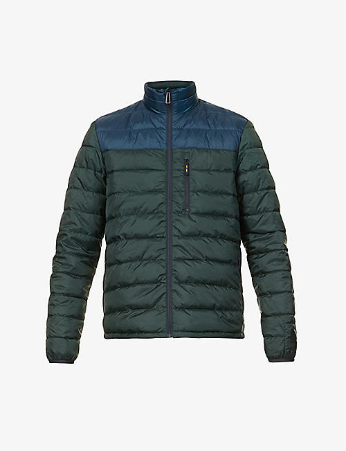 PS BY PAUL SMITH: Quilted down and feather-blend jacket