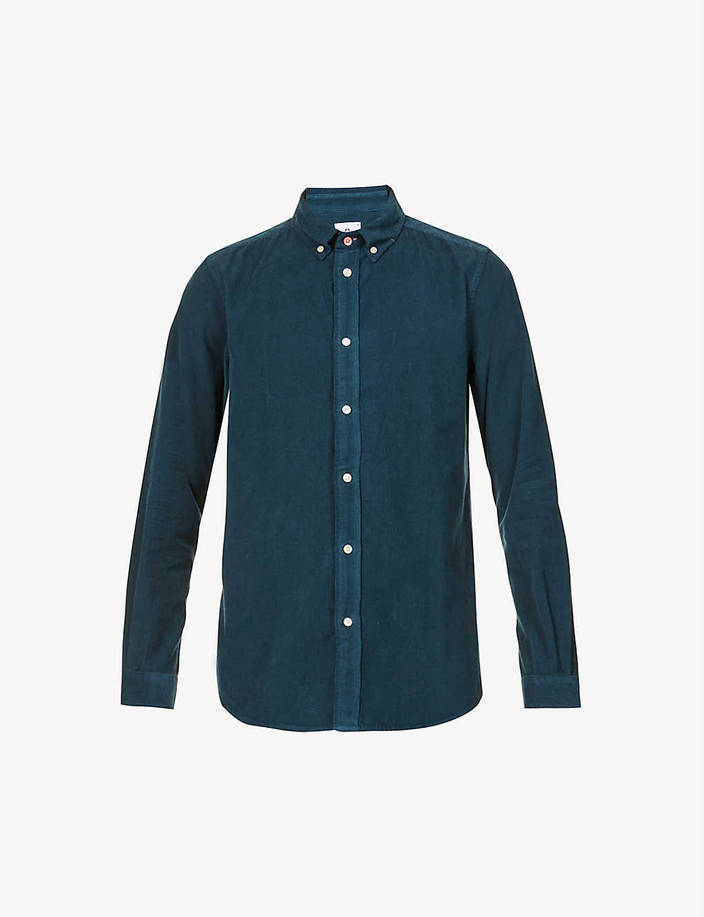 PS BY PAUL SMITH: Tailored fit cotton-corduroy shirt