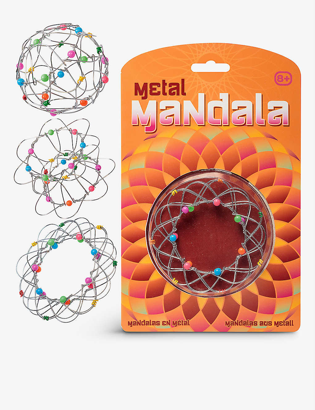 TOBAR: Metal mandala toy