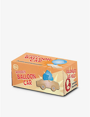 TOBAR: Wooden Balloon Car