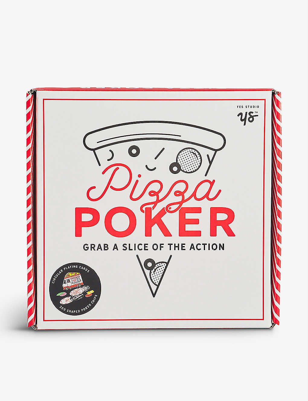 WILD AND WOLF: Pizza poker set