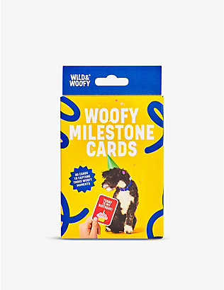 WILD AND WOLF: Dog Milestone card set