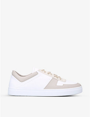 YATAY: Irori colour-blocked recycled-polyester low-top trainers