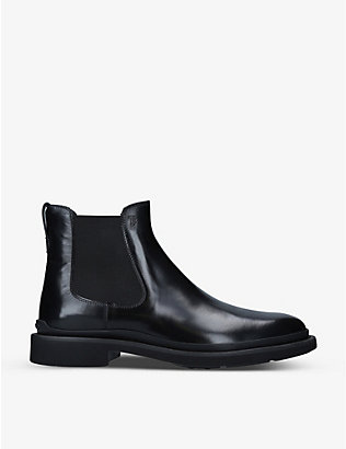 TODS: Project Urban leather Chelsea boots